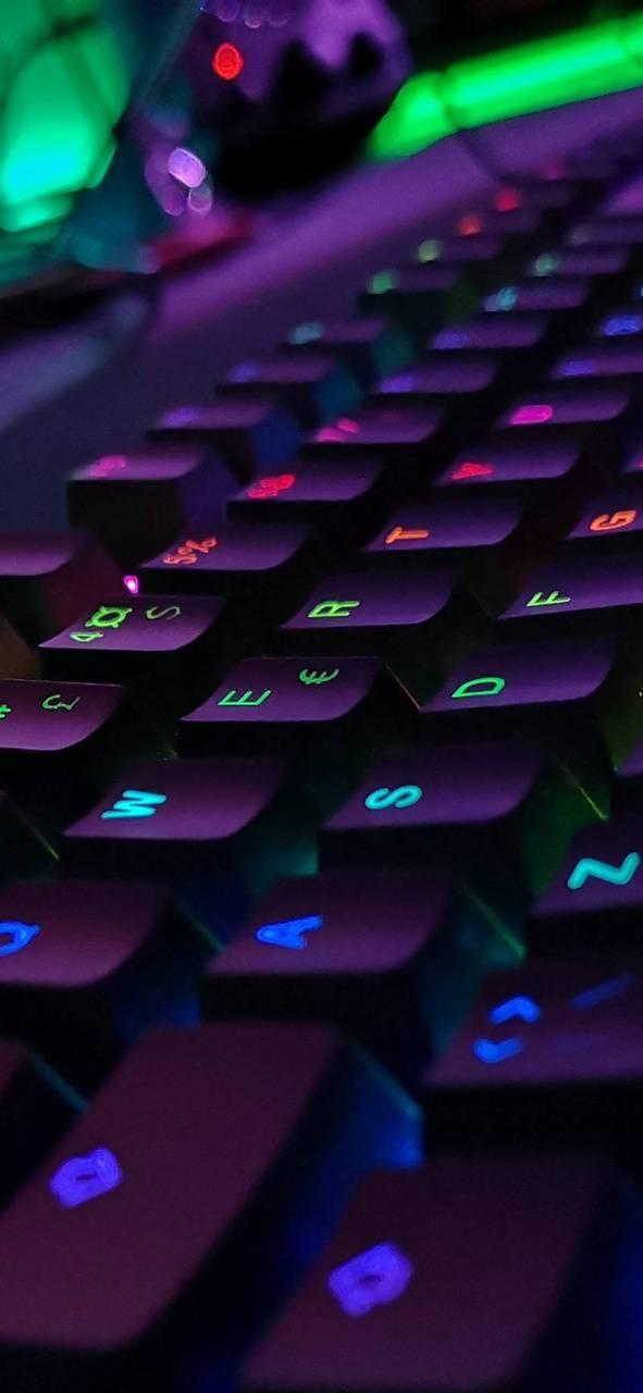 Purple Keyboard Wallpaper By Maherx8x F0 Free On Zedge