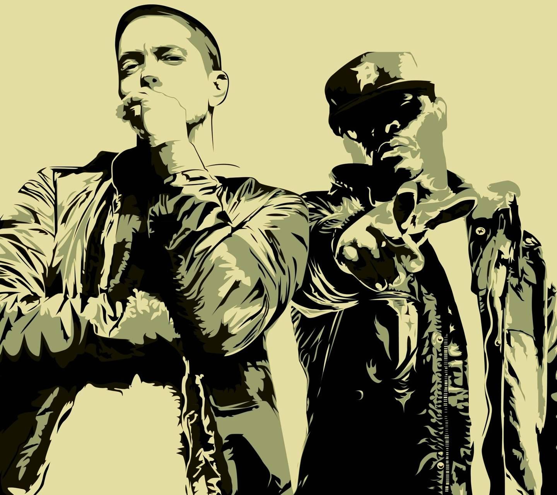 Eminem Wallpaper by pavelericsson - 2d