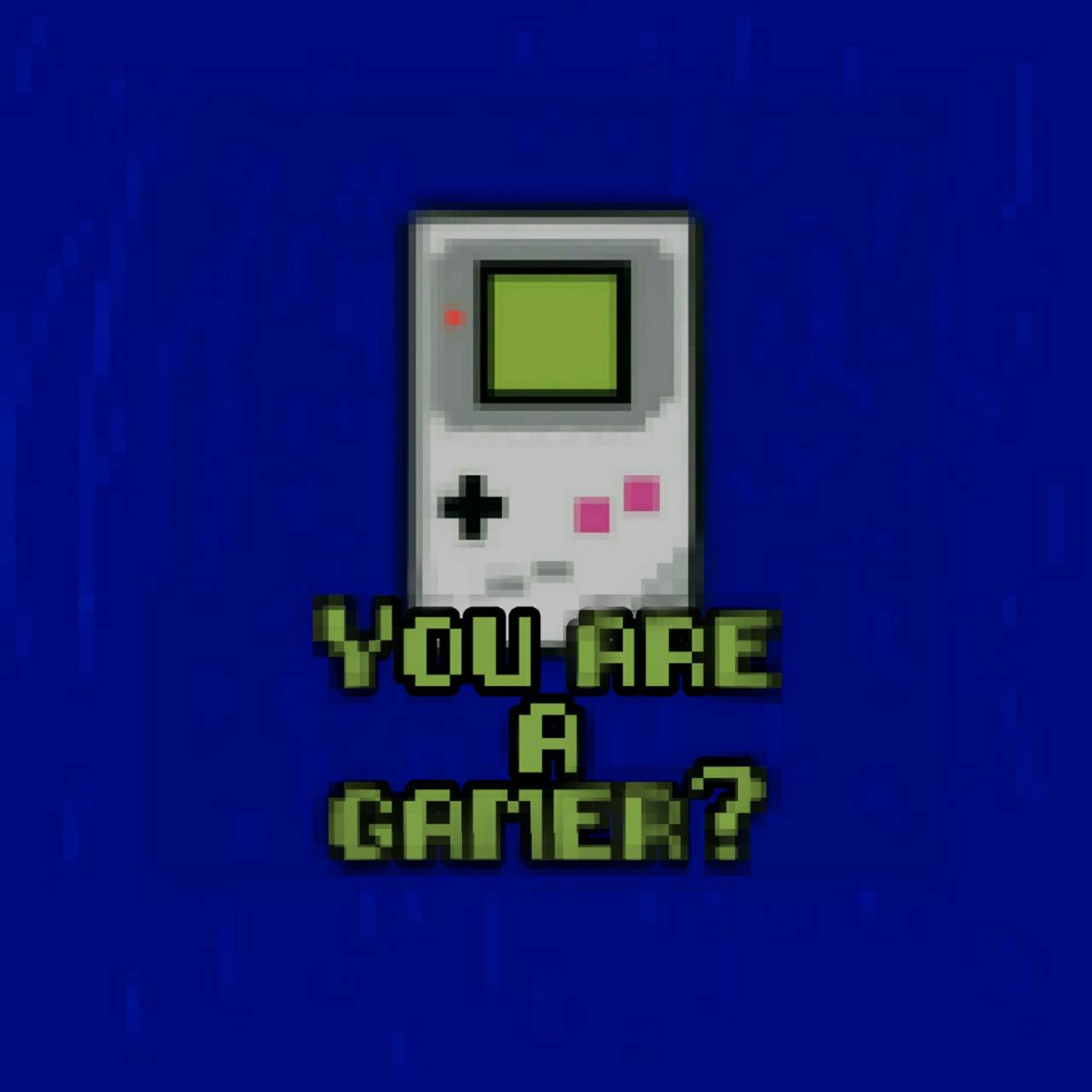 You are a gamer