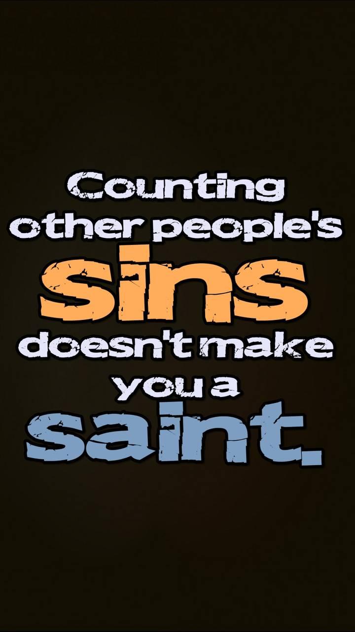 peoples sins