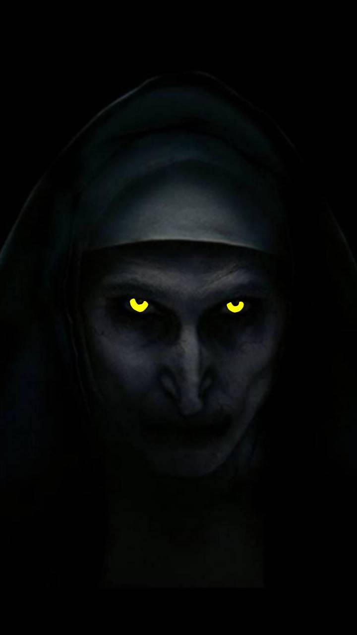 Nun glowing eyes