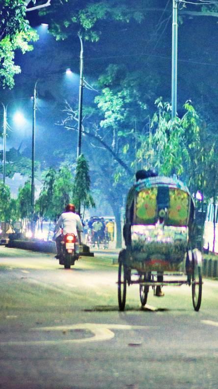 Night in Dhaka