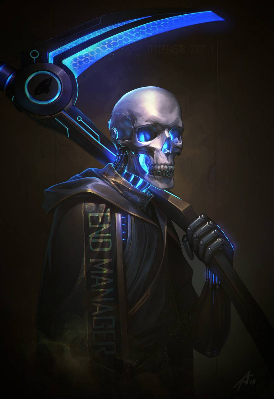 Neon Reaper