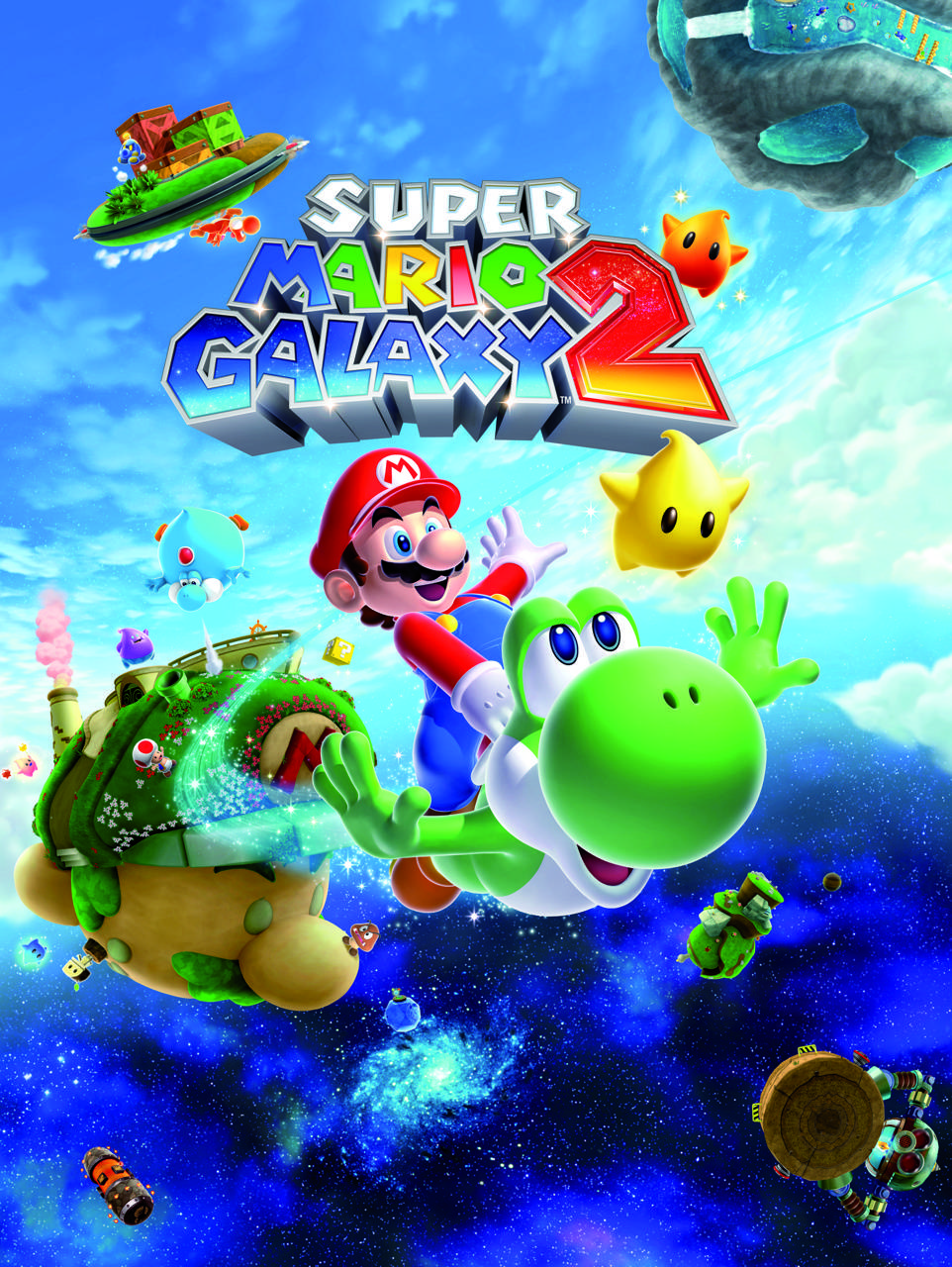 Super Mario Galaxy 2 Wallpaper By Luigyh 2c Free On Zedge