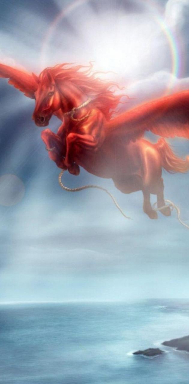 Pegasus red an free