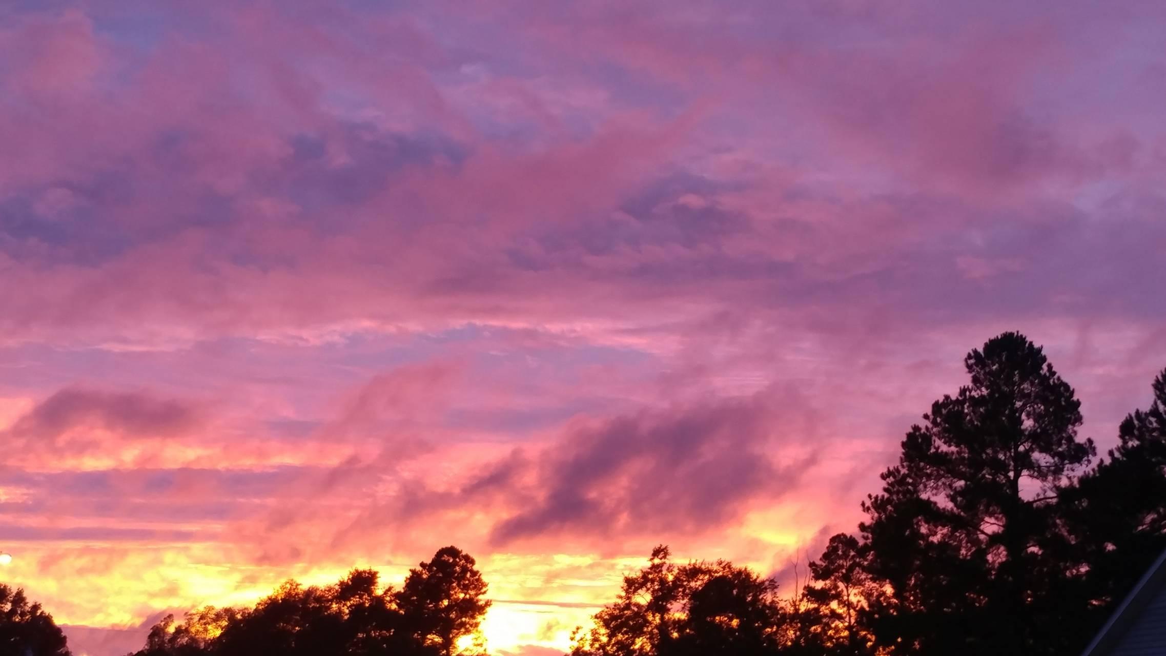 Mauve sunset