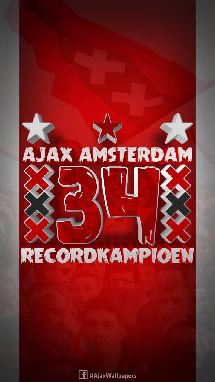 Ajax Recordkampioen