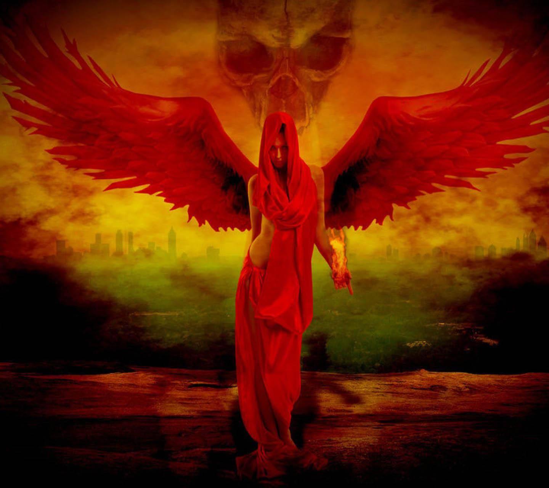 насекомые ангел с красными крыльями картинки интерьере