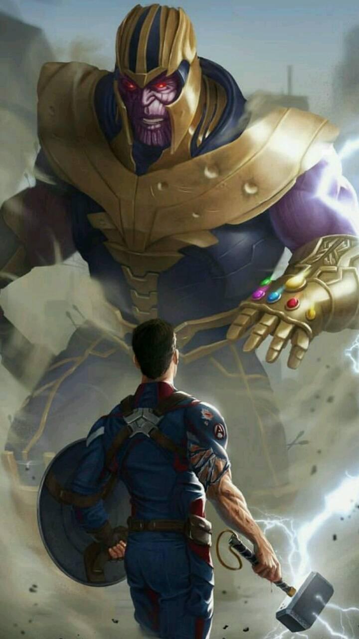Thanos vs Tony stark