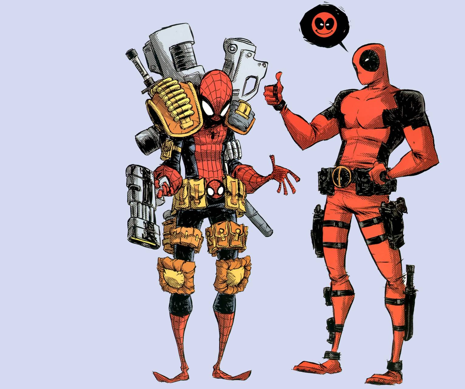 Deadpool And Spiderm