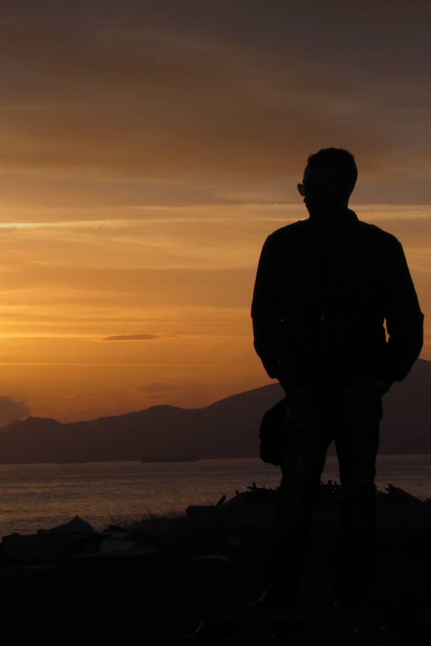 Men Unknown Sunset