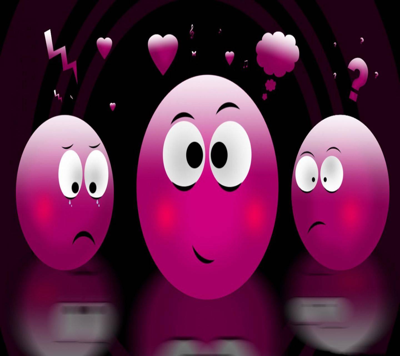 Emoticon Pink