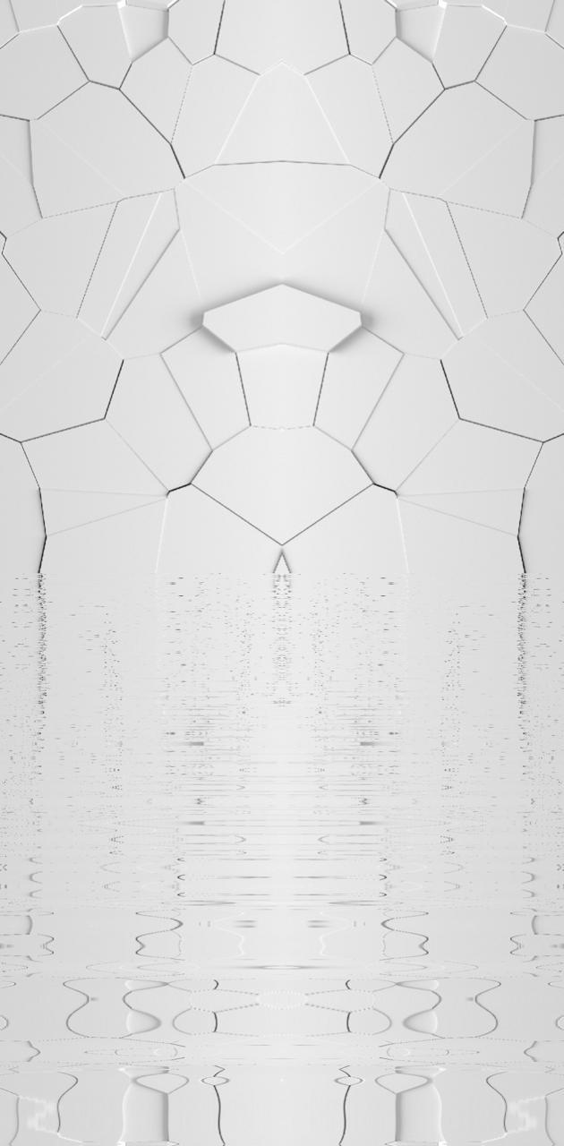 White ripples