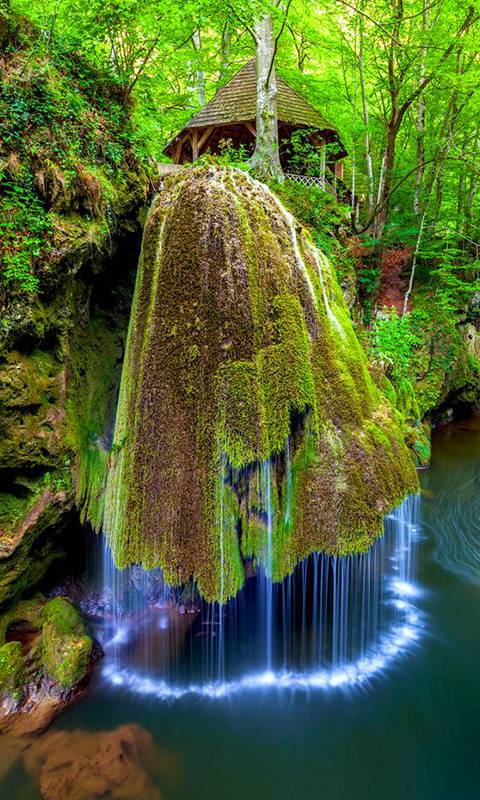 Romania waterfalls