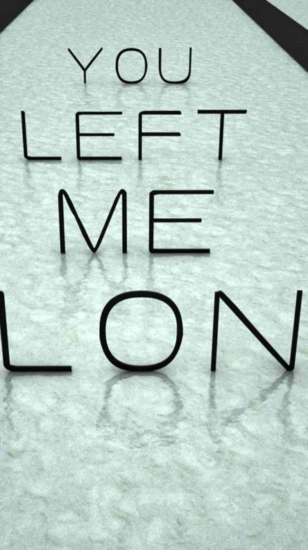 Left Alone Wallpapers