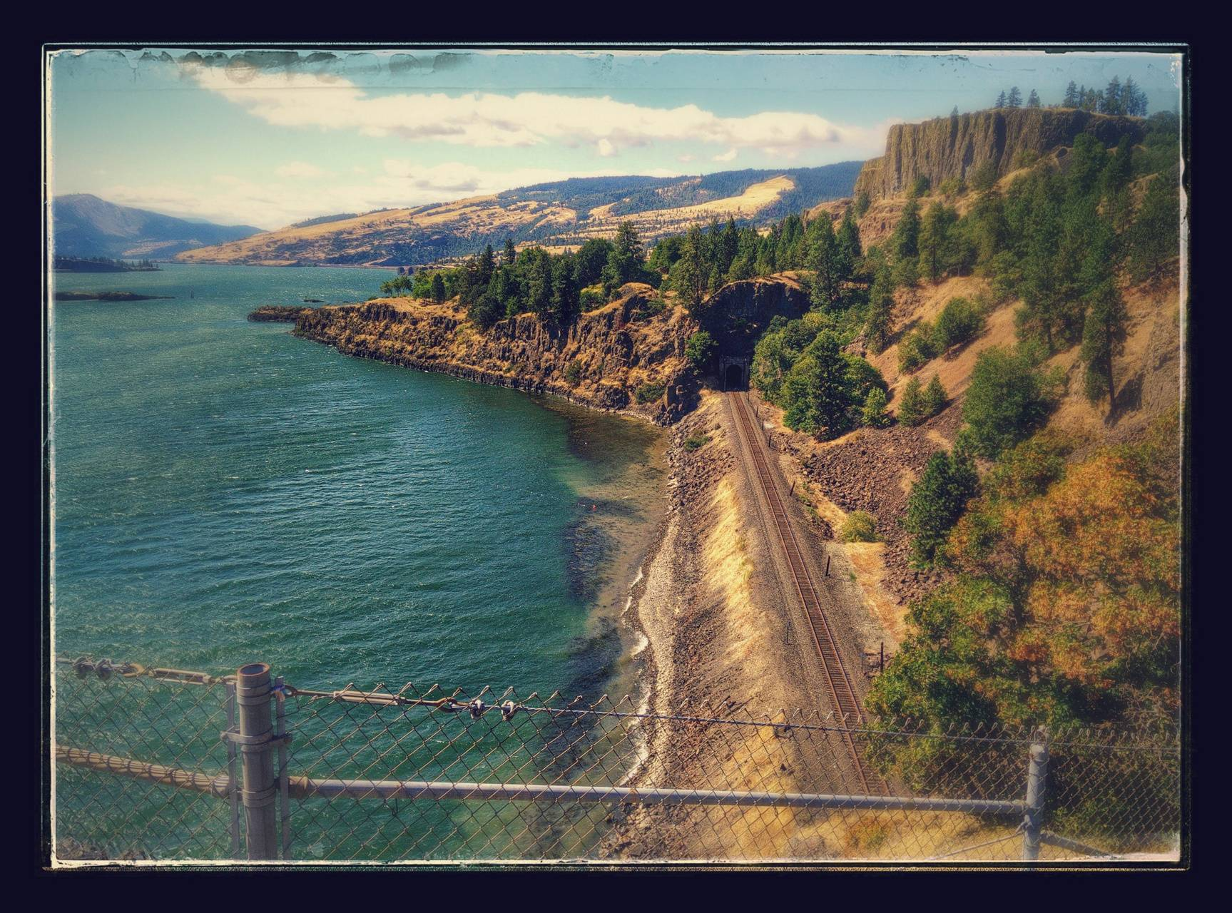 Track at the Gorge