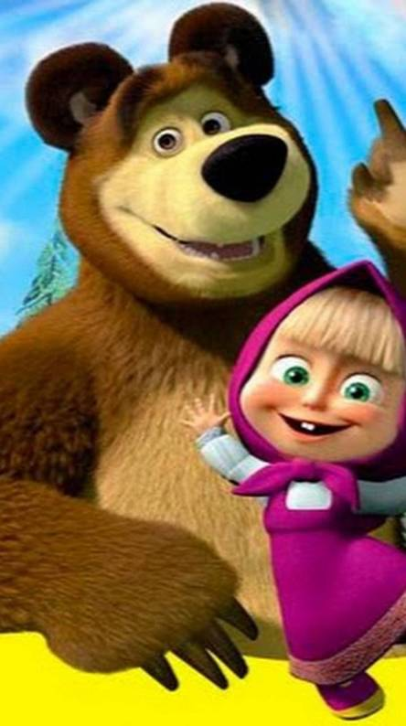 Masha And The Bear Wallpapers Free By Zedge