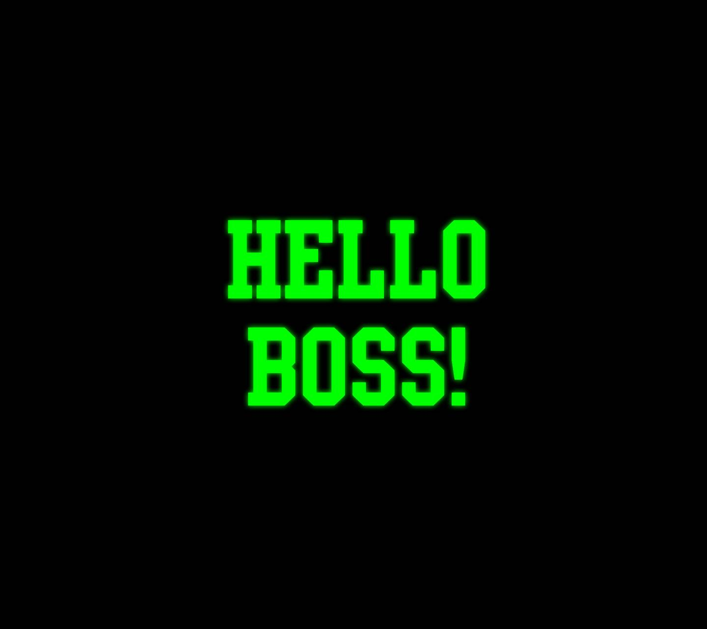 Hello Boss