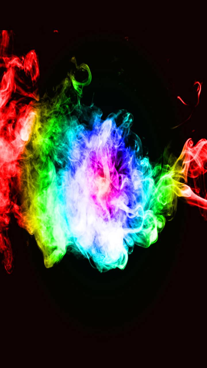 color smoke abstract