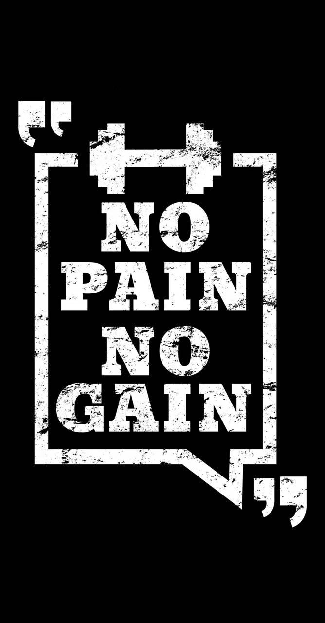 No Pain No Gain Wallpaper By Peerfaisalofficial 37 Free On Zedge