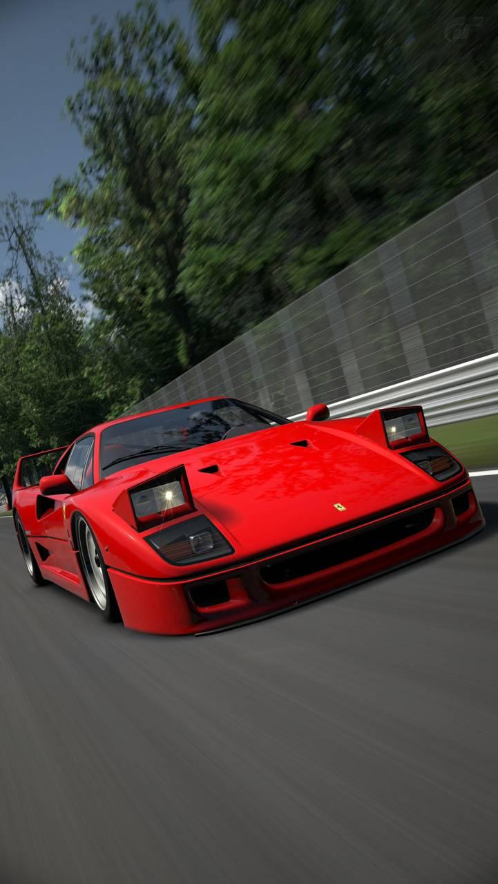 Ferrari F40 at Monza