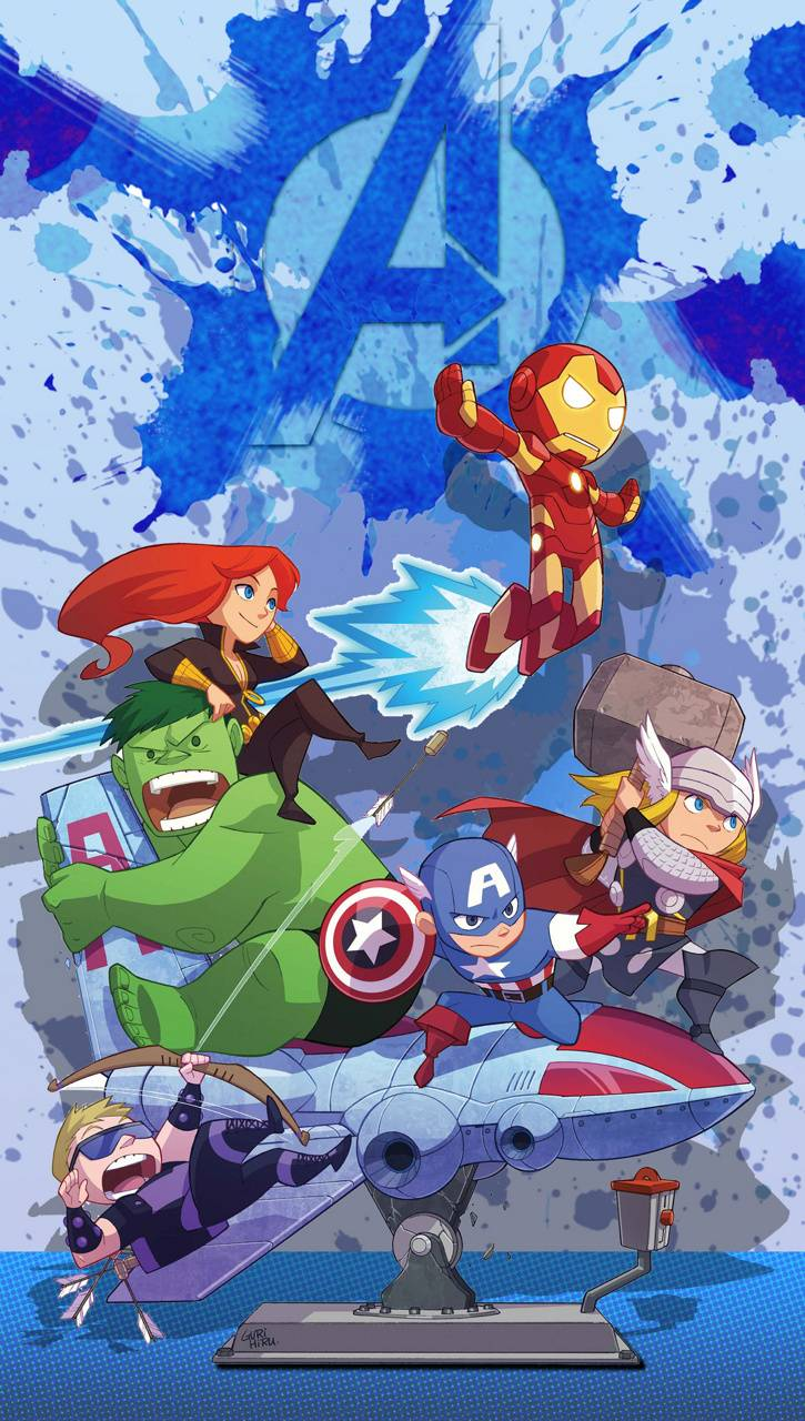 cartoon avengers