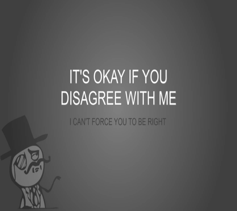 Its Okey if