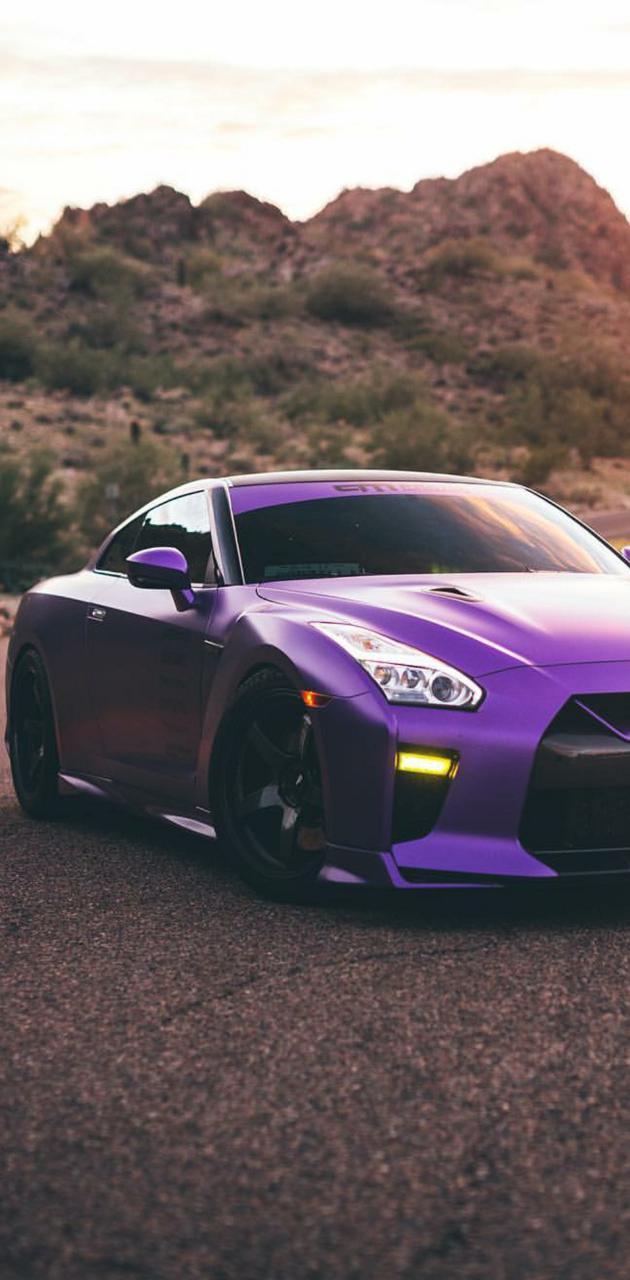Satin Purple GTR