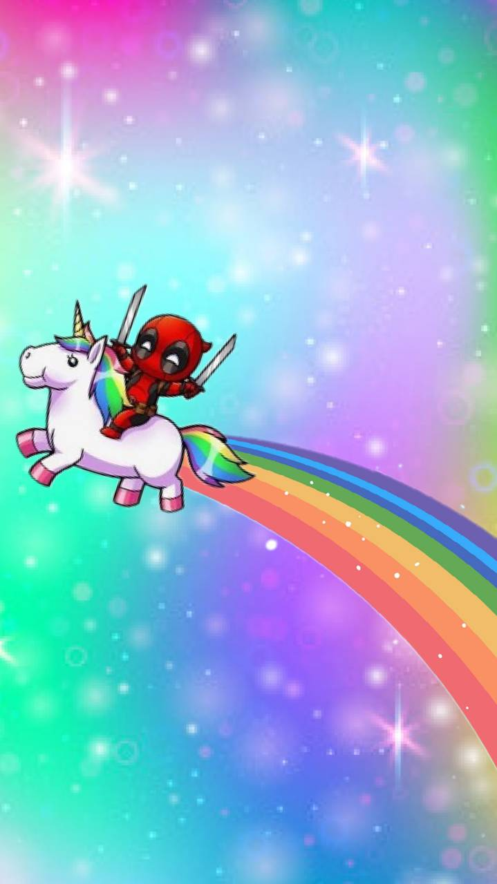 Deadpool Unicorn Wallpaper By Jaegerelite Fb Free On Zedge