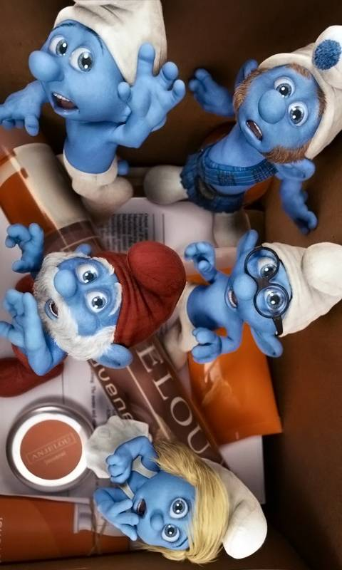 Smurfs Family