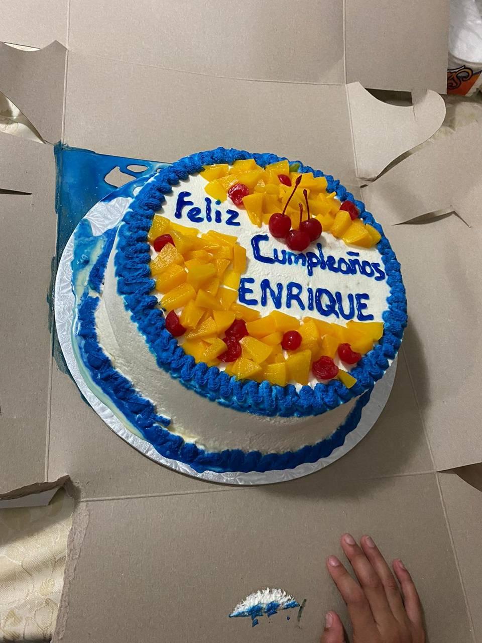 Feliz cumple Enrique