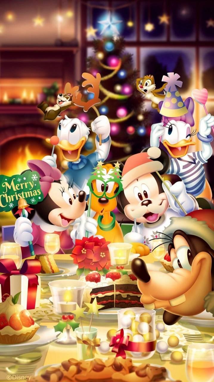 Disney Xmas wallpaper by Sammisamz420