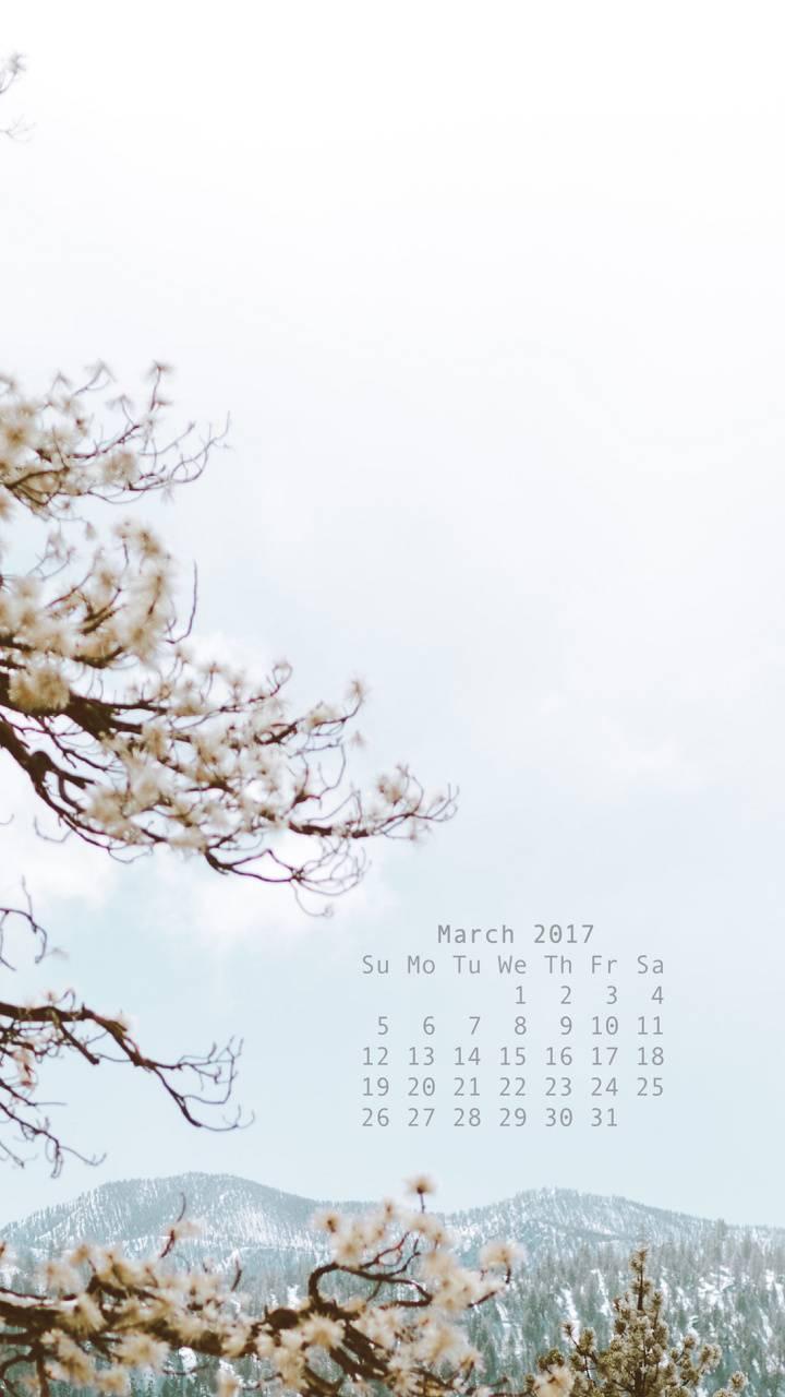 Calendar March 2017