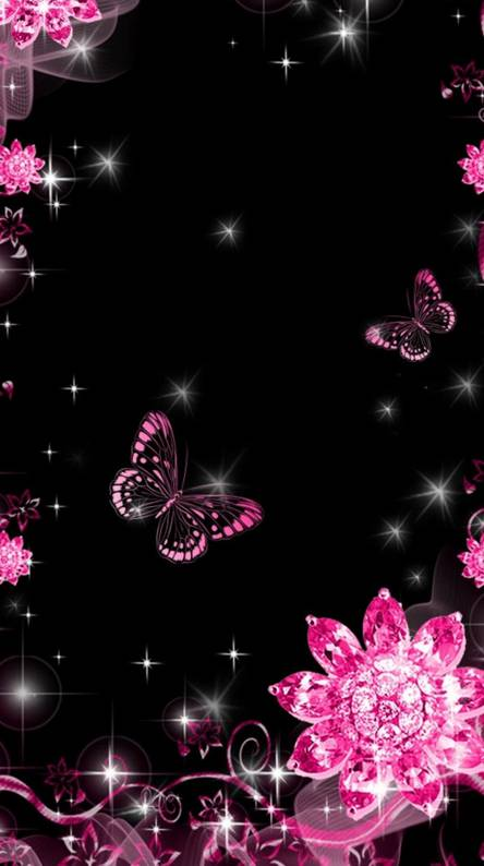 Sparkling Butterfly Wallpapers Free By Zedge