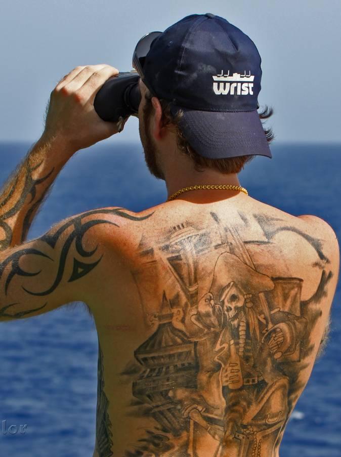 Pitate Watch Tattoo