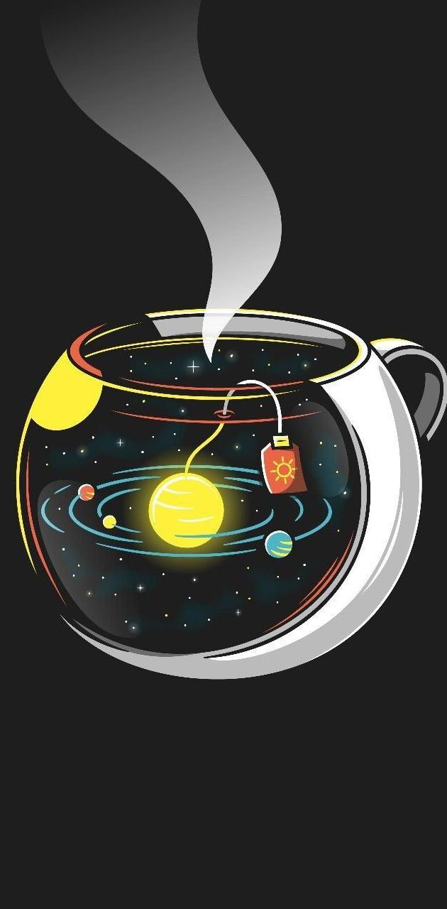 Galaxy in cup