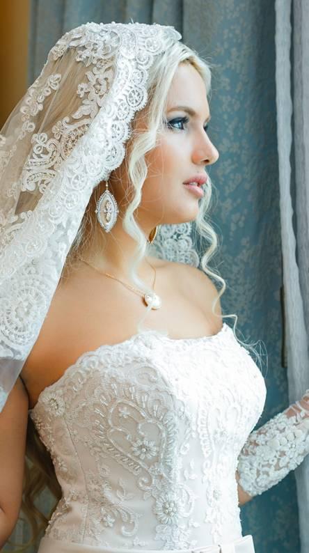 Cute bride