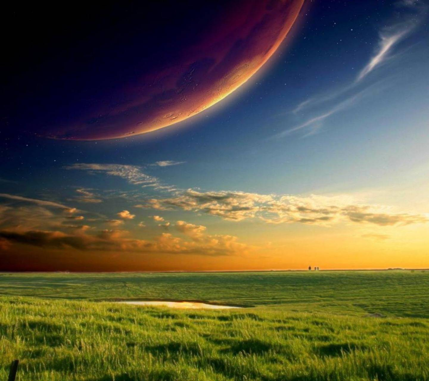 Colorful Plains Hd
