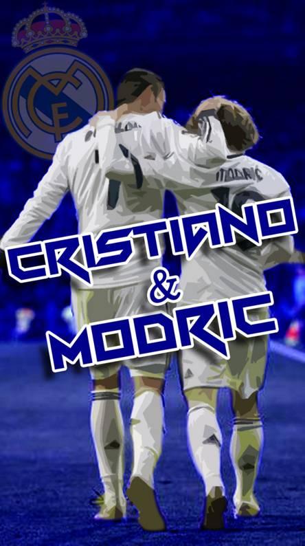 cristiano and modric