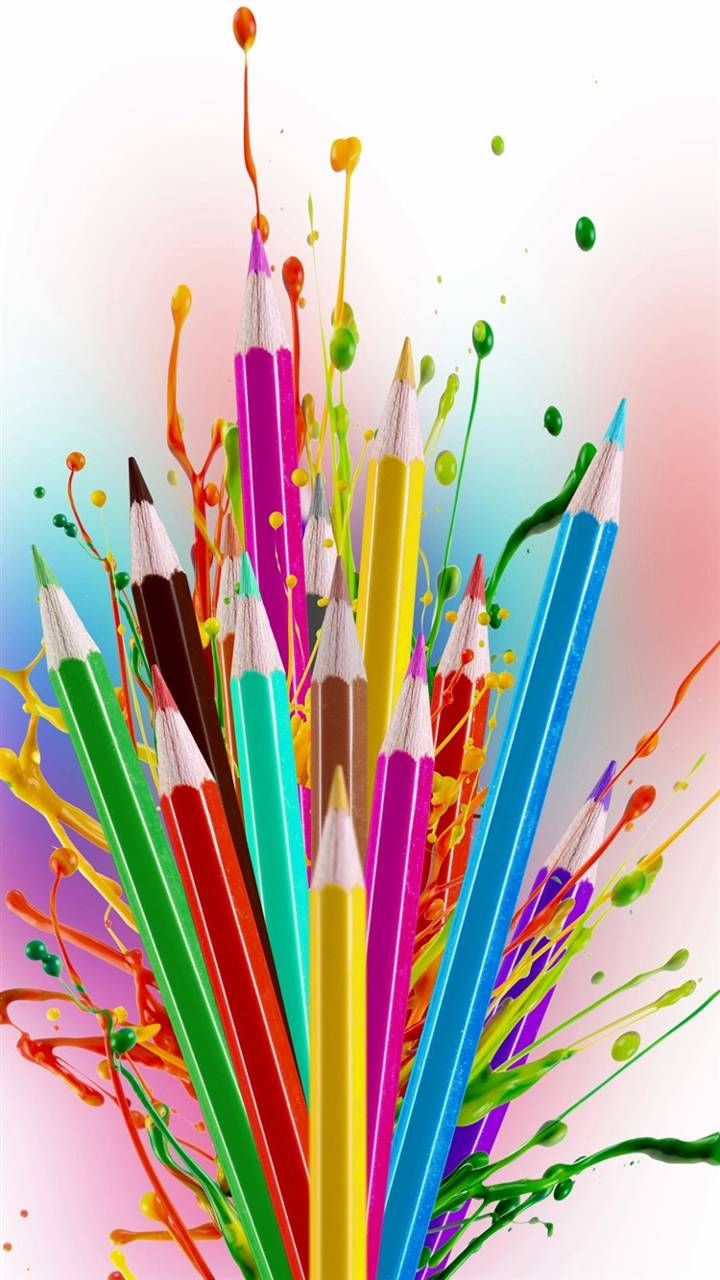Creative Art crayons