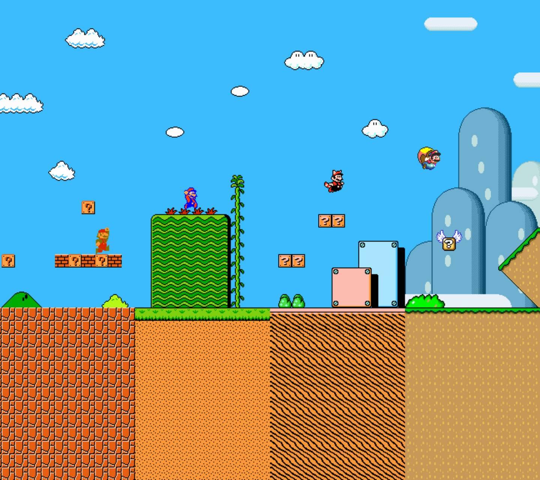Mario Evolved