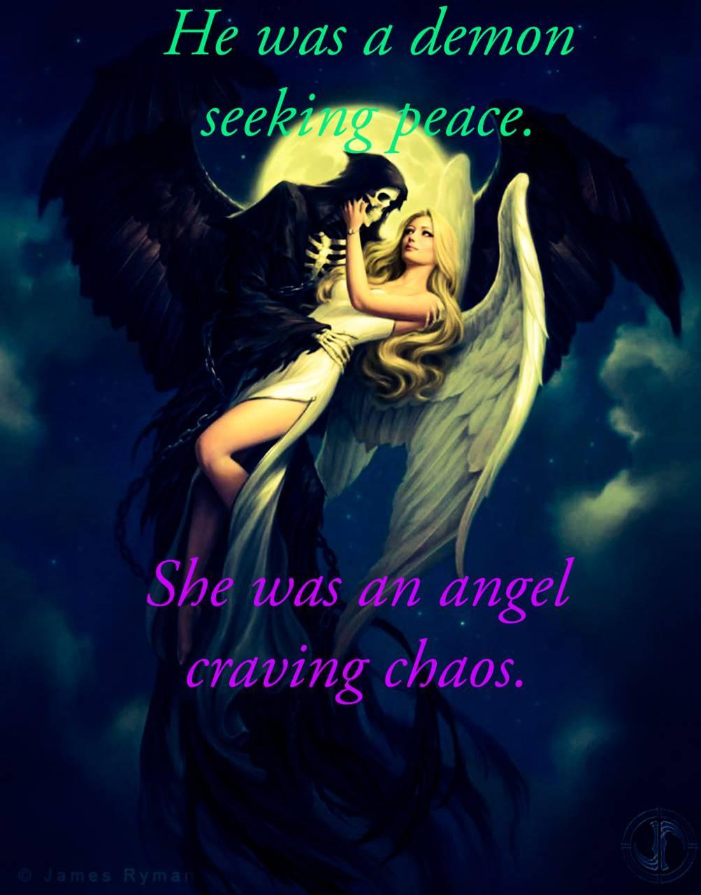 Demon And Angel Love Wallpaper By Djcmoney45 32 Free On Zedge