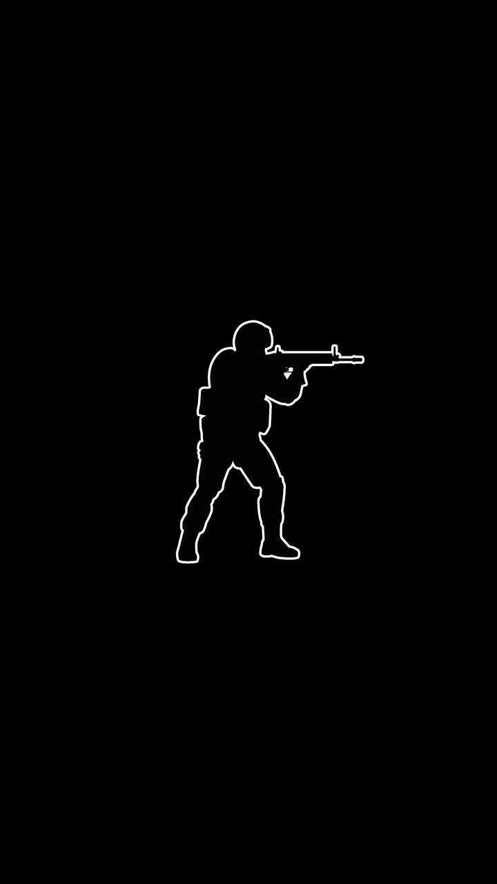 Black AMOLED CS GO