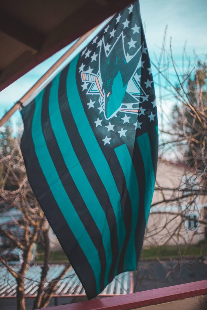 SanJose sharks flag
