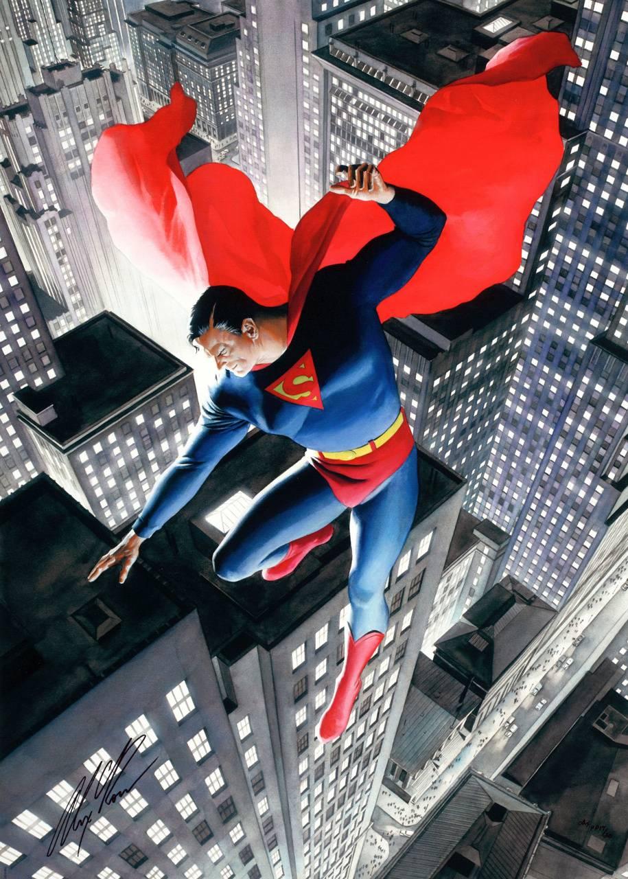 Superman Alex Ross Wallpaper By Garrisons95 55 Free On Zedge