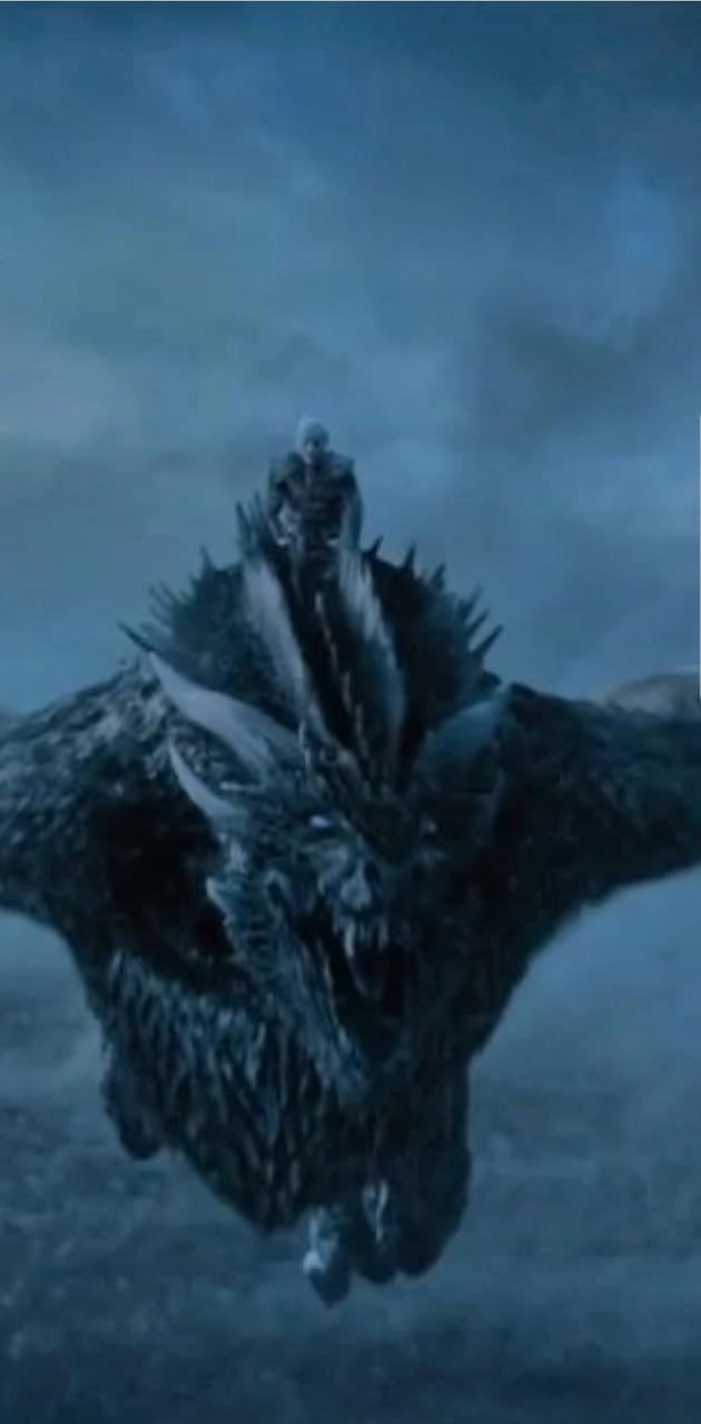 Whitewalker dragon