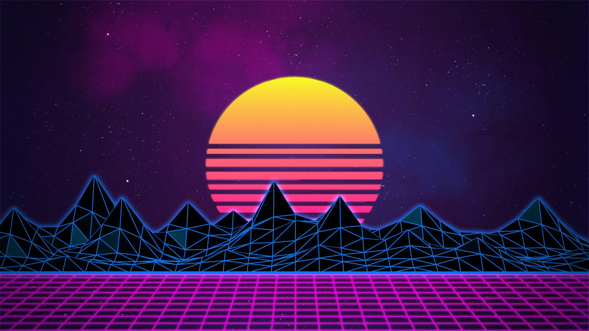 Virtual World Sunset