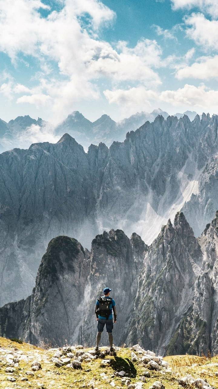 Higher on mountain