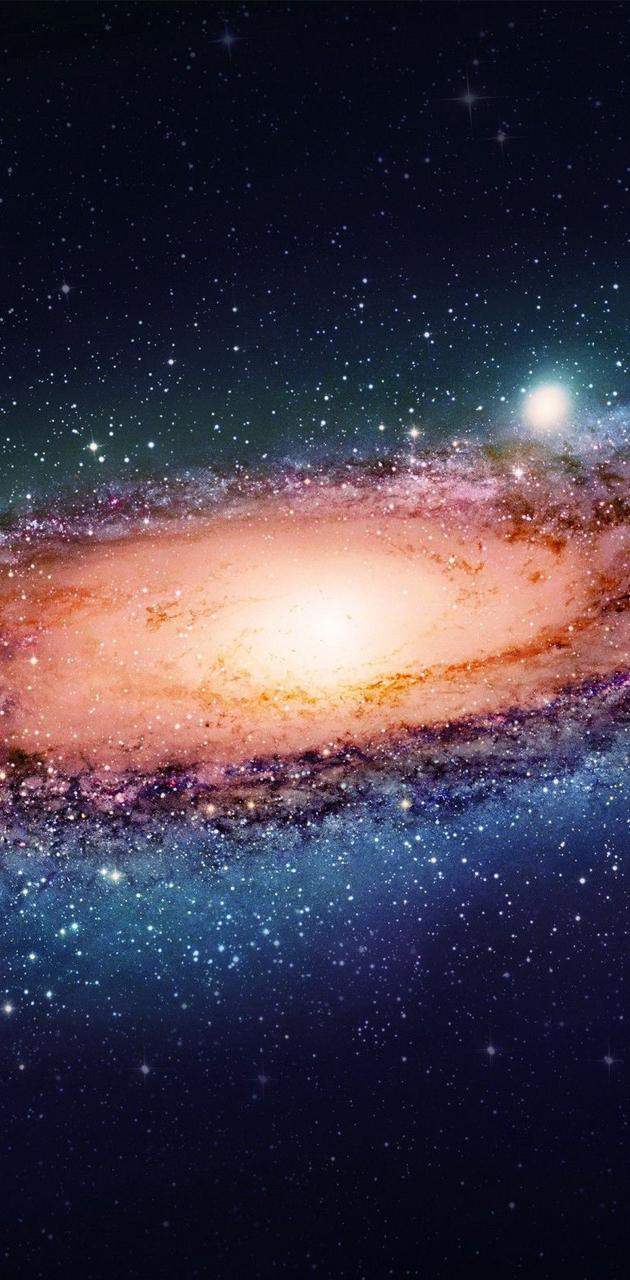 Spiral galaxy HD