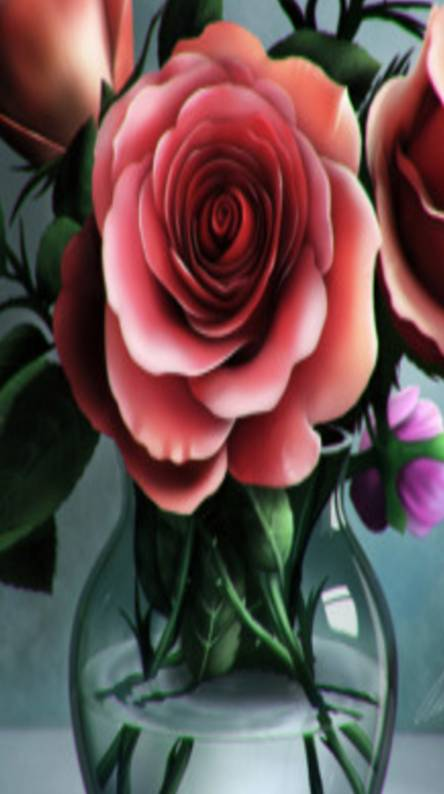 3D Roses